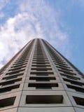 Tall skyscraper hotel stock image