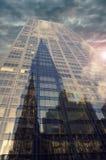 Tall skyscraper in New York city Royalty Free Stock Photo