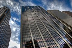 Tall Skyscrapers stock photos