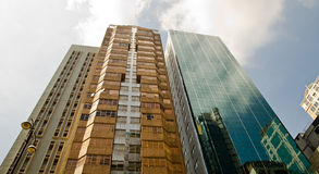 Tall skyscrapers Stock Photography
