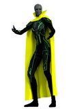 Tall slender 3D alien female Stock Image