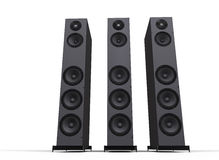 Tall Speakers Royalty Free Stock Photos