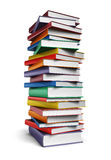 Tall stack of Books Royalty Free Stock Image