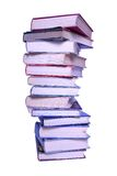 Tall stack of old books Royalty Free Stock Photography