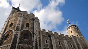 Tall stone tower in london timelapse stock footage