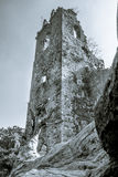 Tall structure. A tall ruin structure still holding on Royalty Free Stock Photography