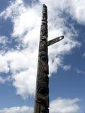 Tall Totem. Native American totem pole, Seattle, Washington Royalty Free Stock Images