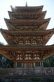 Tall tower in Daigoji temple, Kyoto Stock Images