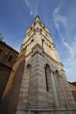 Tall tower in Ferrara city, Italy Royalty Free Stock Image