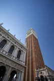 Tall tower in Venice, Italy Stock Photos
