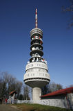 Tall transmitter tower Stock Image