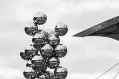 Tall Tree & The Eye at Guggenheim Museum Bilbao Royalty Free Stock Photography