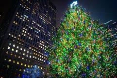 Tall Tree Rockefeller Center Stock Photo