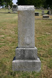 Tall Upright Old Tombstone At Rest Royalty Free Stock Photos