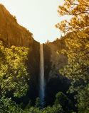 Tall waterfall Royalty Free Stock Photos