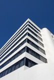 A tall white building Stock Image
