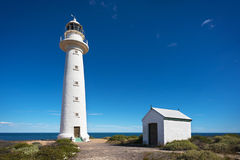 Tall White Lighthouse Royalty Free Stock Photography