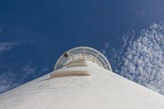 White Lighthouse Stock Images