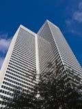 Tall White Skyscraper Stock Photo