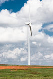 Tall wind turbine in Oklahoma Stock Images