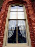 Tall Window. Window in Nelsen Dewey State Park, Wisconsin Stock Photo