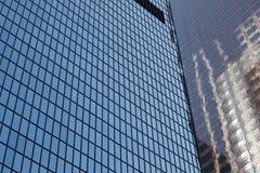 Tall windowed skyscrapers Stock Image
