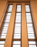 Tate Modern Art Gallery windows Royalty Free Stock Photos