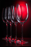 Tall wine glass Stock Photo
