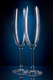 Tall wine glass Royalty Free Stock Photo