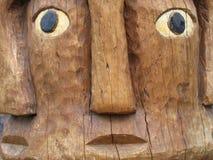 Talla aborigen Foto de archivo libre de regalías