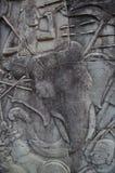 Talla antigua de la piedra Imagen de archivo libre de regalías