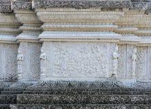 Talla budista de la vida de Buda, Tailandia Imagen de archivo libre de regalías