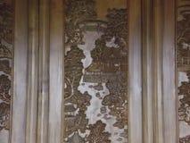 Talla china de madera Imágenes de archivo libres de regalías