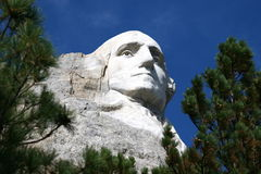 Talla de George Washington Imagen de archivo libre de regalías