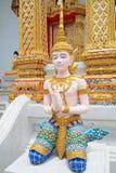 Talla de la estatua de dios del saludo Fotos de archivo