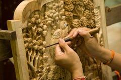 Talla de la madera imágenes de archivo libres de regalías
