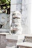 Talla de la piedra del león Fotografía de archivo libre de regalías