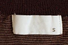 Talla de la ropa Fotografía de archivo libre de regalías