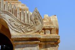 Talla de la serpiente de mar de Makara Imagen de archivo