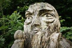 Talla de madera Fotografía de archivo
