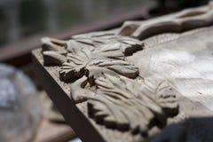 Talla de madera imagen de archivo libre de regalías