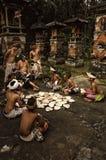 Talla de madera de Bali Fotografía de archivo