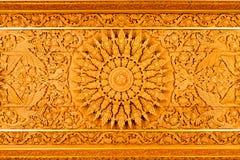 Talla de madera de Tailandia Imagen de archivo libre de regalías
