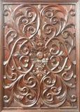 Talla de madera tradicional tailandesa Imagen de archivo libre de regalías