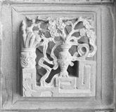 Talla de piedra Imagen de archivo