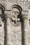 Talla de piedra. Catedral del St Demetrius (1193-1197) Foto de archivo