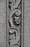 Talla de piedra del desfile Foto de archivo
