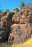 Talla de piedra del desierto natural Fotografía de archivo libre de regalías
