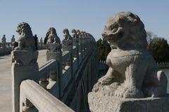 Talla de piedra en palacio de verano Fotos de archivo libres de regalías