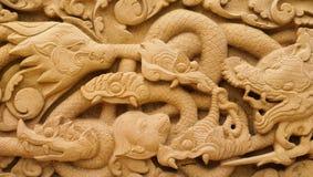 Talla de piedra en Tailandia Imágenes de archivo libres de regalías